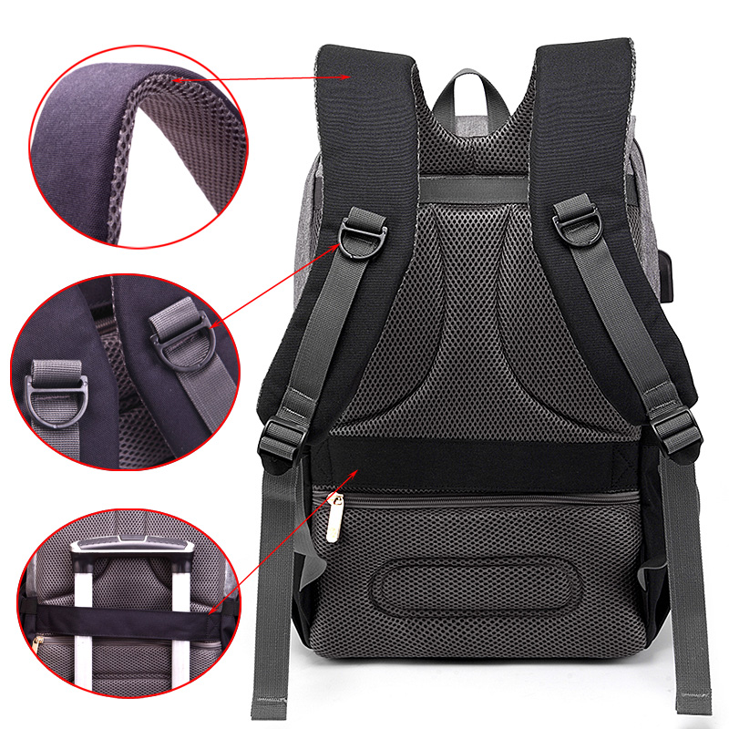 New Mummy Diaper Bag Baby Stroller Bag USB Charging Waterproof Oxford Women Handbag Maternity Nursing Nappy backpack Travel Bags 4