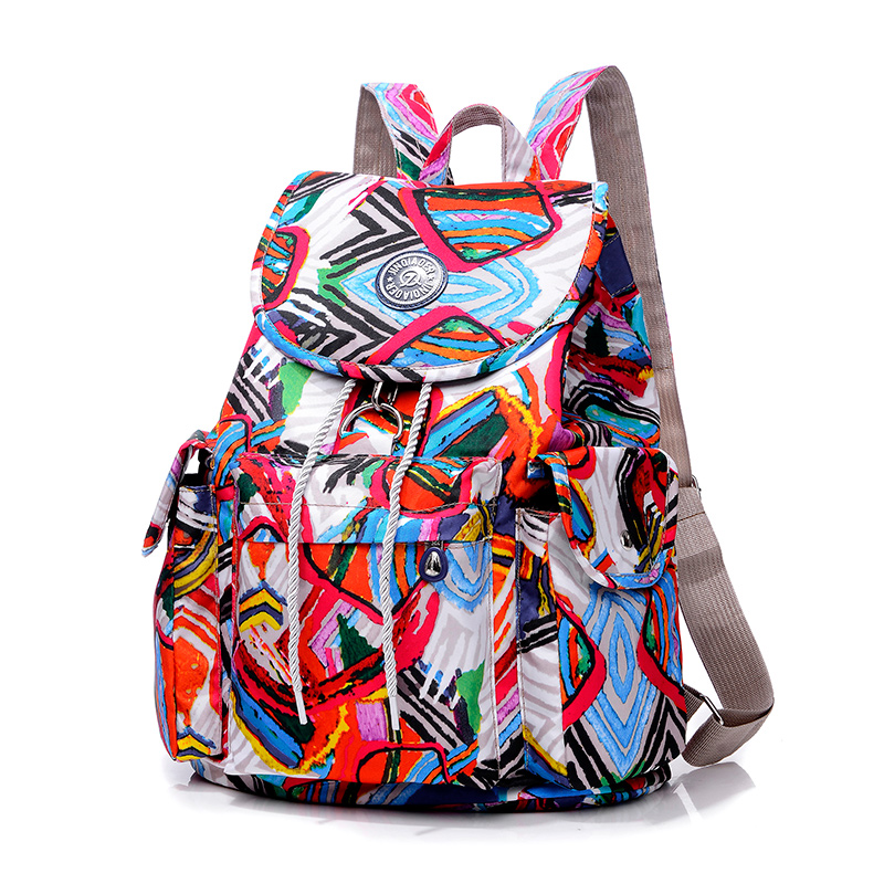 Fashion Women Backpack Waterproof Nylon Backpack 16 Colors Lady Womens Daypack Female Ca ...