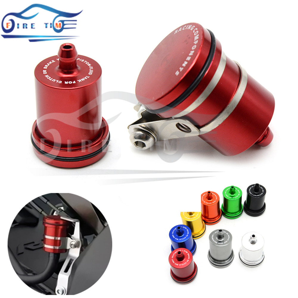 Universal Motorcycle Brake Fluid Reservoir Clutch Tank Oil Fluid Cup For YAMAHA YZFR15 YZF600 R1 R6 R6S VERSION XJ6 DIVERSION universal motorcycle brake fluid reservoir clutch tank oil fluid cup for mt 09 grips yamaha fz1 kawasaki z1000 honda steed bone