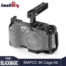 SmallRig BMPCC 4K Cage Kit for Blackmagic Design Pocket Cinema Camera 4K BMPCC 4K / BMPCC 6K Comes with Nato Handle SSD Mount tilta 15mm rod bmpcc cage bmpcc kits bmpcc support rig black magic pocket cinema camera bmpcc stabilizer