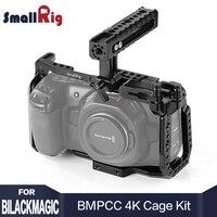 SmallRig BMPCC 4 к клетка комплект для blackmagic Design Карманный кино камера 4 к BMPCC 4 к поставляется с ручка NATO SSD крепление