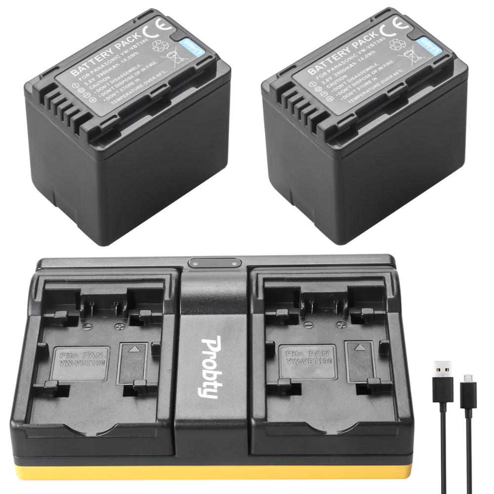 Camera & Photo Accessories Responsible Vw-vbk360 Vw-vbk180 Battery Usb Charger For Panasonic Camcorder Sdr T76k T76 T71 T55 T50 S71 S70 S50 S45 Hs80 Hs60 H101 H100
