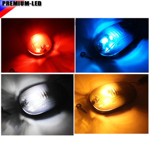 Image 5 - 5ピーススモークレンズ9SMD 3030 led cabルーフトップマーカーランニングライト用トラックsuv 4 × 4 (アンバー/レッド/ブルー/アイスブルー/ホワイト)