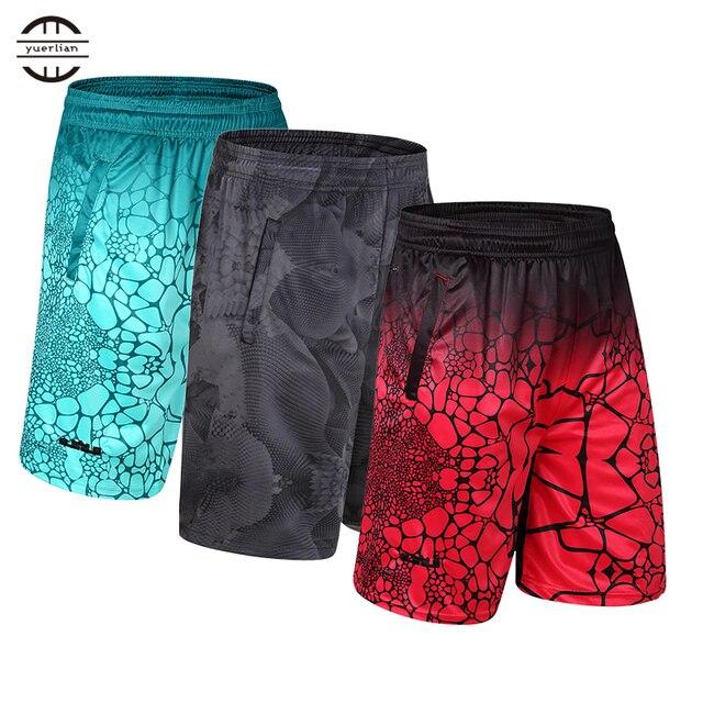 Горячая эластичный карман на молнии Футбол Джерси шорты Кроссфит свободная спортивная одежда спортивные шорты для бега Для мужчин бег для спортзала для игры в баскетбол Шорты