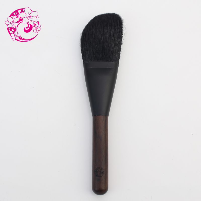 ENERGY Brand  Goat Hair Powder Brush Make UpEbony bar Makeup Brushes Pinceaux Maquillage Brochas Maquillaje ht01 электросушилка для белья energy ht 800 киев