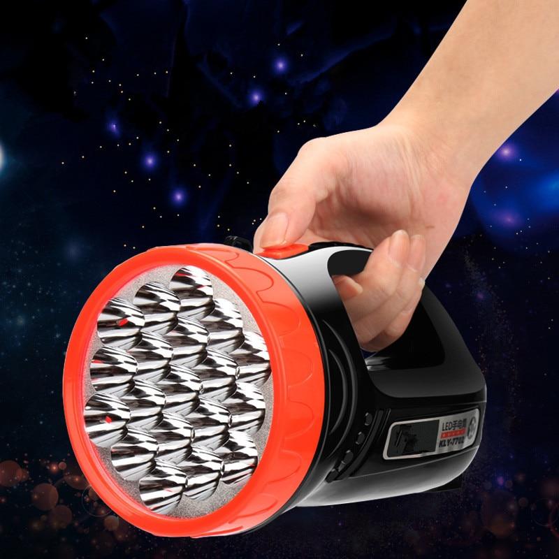 LED 1W 3W 5W flashlight light portable rechargeable rechargeable ultra-long-range outdoor long range searchlight lantern