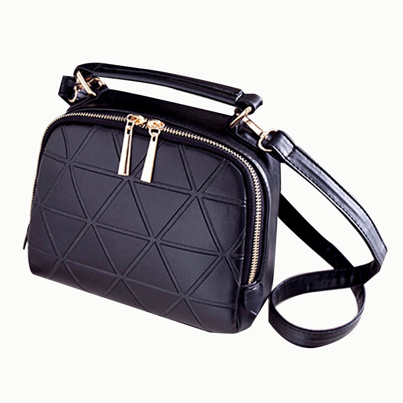 FGGS Hot New Fashion Women Solid PU Leather Handbag High Quality Chain Shoulder Lady Messenger Bag Candy Color Cross body Bags 2017 new simple mini women shoulder bag fashion chain messenger bags high quality pu leather cross body for lady small bag