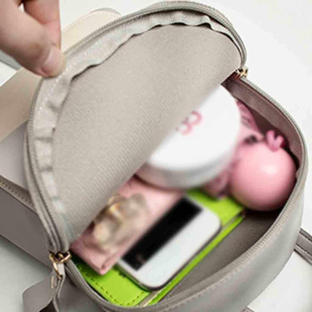 Mini Bolsos De Mujer bolso de hombro de cuero de PU para adolescentes niñas niños Multi-función Pequeño bolso de la Escuela de las señoras femeninas #25