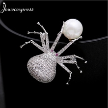 Jewecexpress  Popular littlle bird  zircon Brooches Women jewelry Party wedding Christmas gift