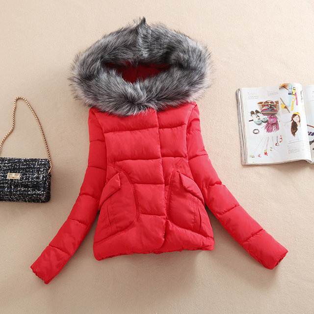 7a20112a0da1 Women winter coat 2017 new hooded long down jacket Girls Korean coat ...