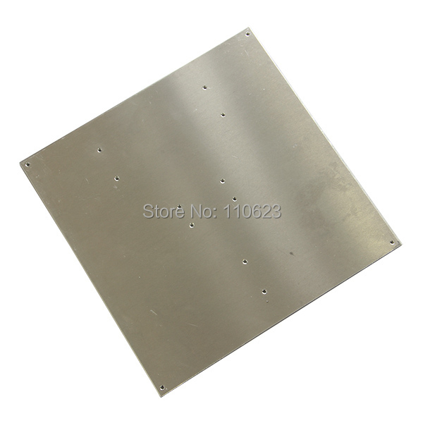Hot Bed Heating Aluminum plate size 216mmx216mmx3mm for heatbed MK2/MK2A of 3D printer 3d printer accessory hot bed aluminum heating base board silver
