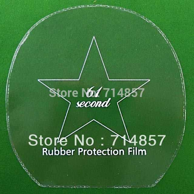 12 pieces of 61second table tennis / pingpong rubber protection film