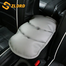Zlord Car Armrests soft Pad Vehicle Center Console Arm Rest Seat Pad for Chevrolet Cruze TRAX Aveo Lova MAILIBU Captiva(China)
