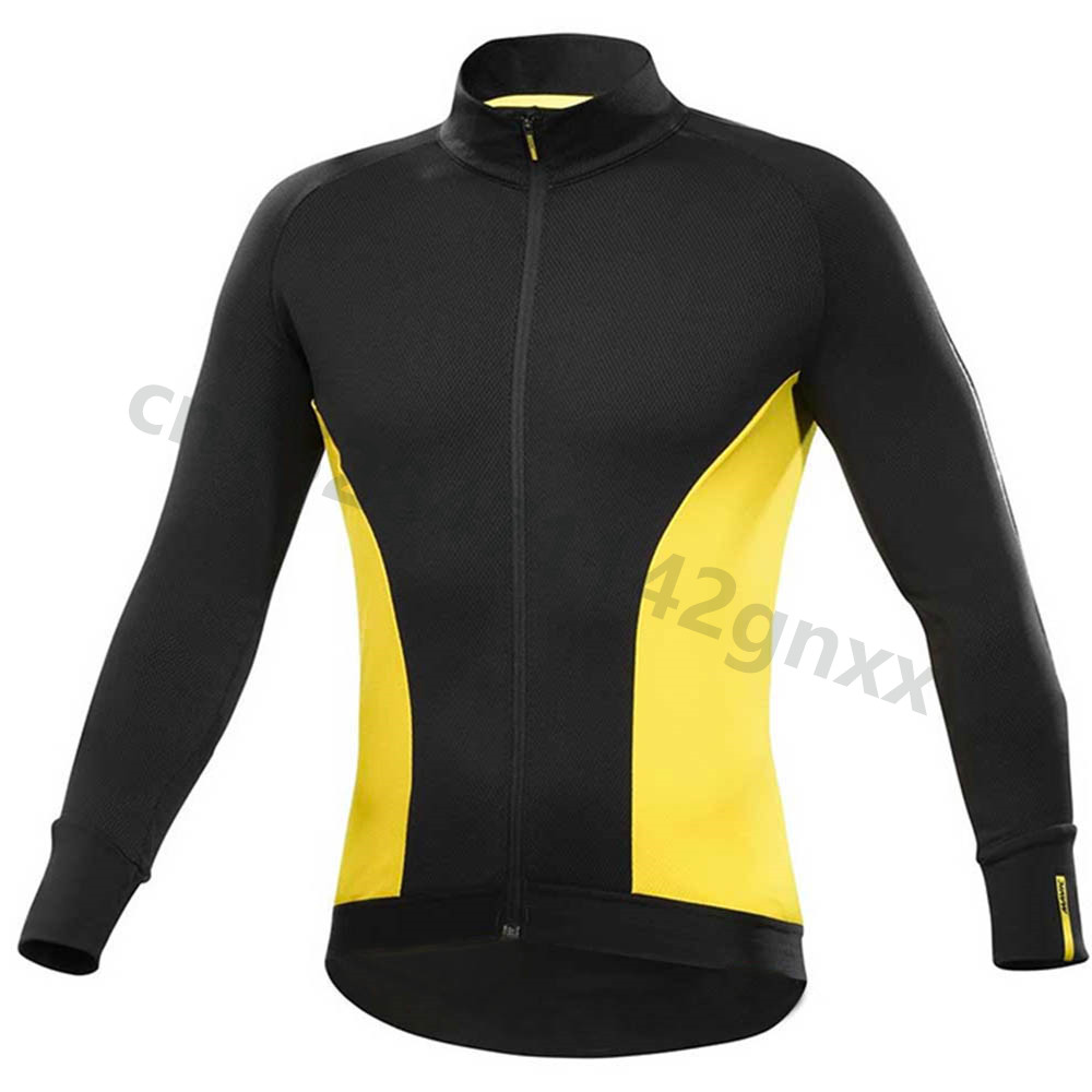 triathlon Mavic 2019 pro team Long Sleeves Autumn Men 39 s Cycling Jerseys Shirt MTB Bike Sportswear Breathable Bicycle Clothing in Cycling Jerseys from Sports amp Entertainment