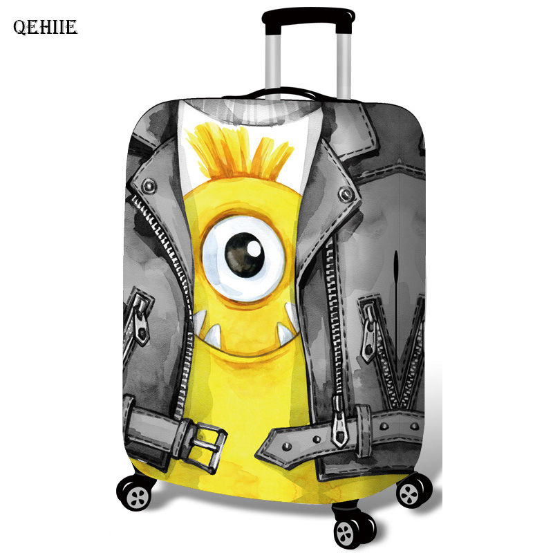 QEHIIE Elastic Suitcase Dust Boot 19-32 Inch Suitcase Cover Organizer Suitcase Case Cove ...