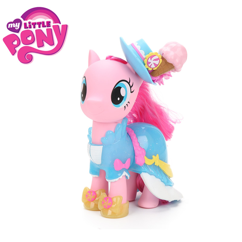 15cm My Little Pony Toys Snap On Fashion Pinkie Pie