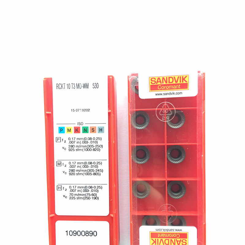 RCKT 10T3 MO-WM 530 carbide face milling inserts cutter tools blade High cost performance