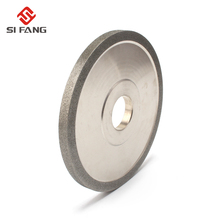 100x20x10x5mm diamond grinding wheel cup grinding circles for tungsten steel milling cutter tool sharpener grinder accessories 100-150mm Electroplating Diamond Grinding Wheel parallel grinding for alloy Milling Cutter Tool Sharpener Grinder Accessories