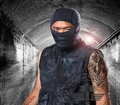 party mask tactical scarf outdoor riding. Direct traffic. Sunscreen prevent sand camouflage Halloween dress dust mask