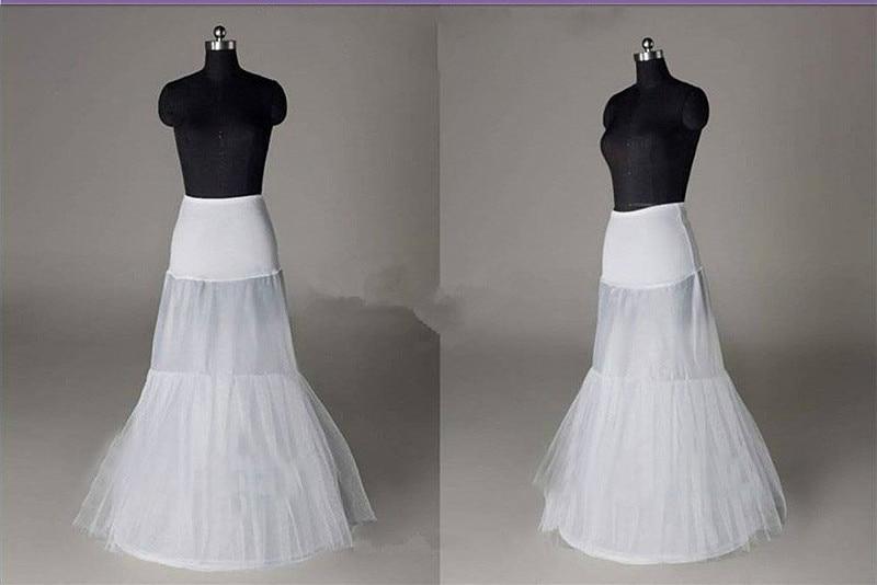2015 Cheap Mermaid Underskirt Petticoats Crinoline Bridal