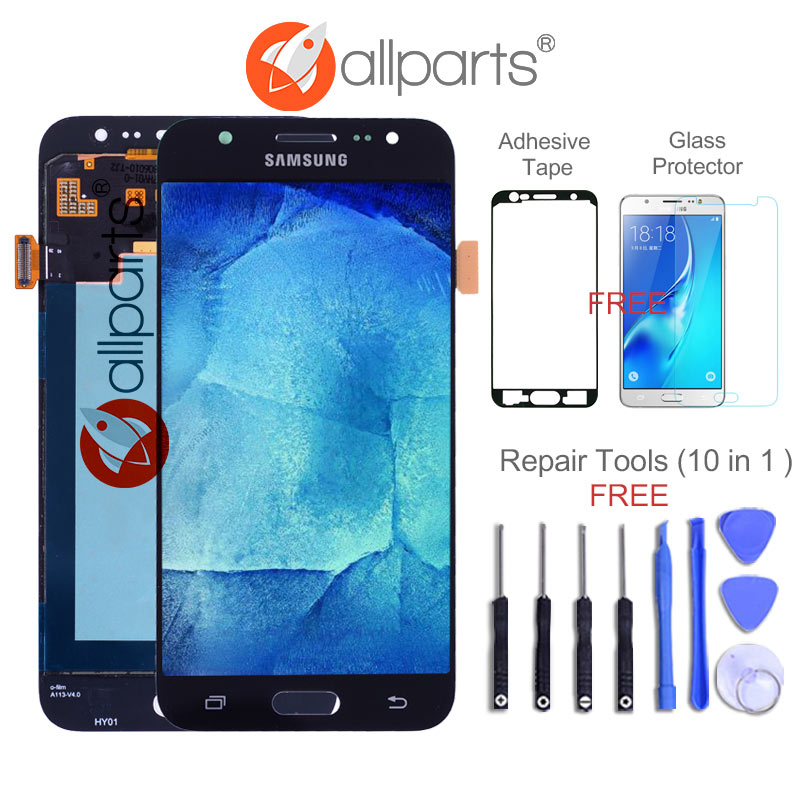 Super AMOLED 5.0'' LCD for SAMSUNG Galaxy J5 2015 J500 LCD Display J500H J500FN J500F J500M SM-J500F Touch Screen Digitizer