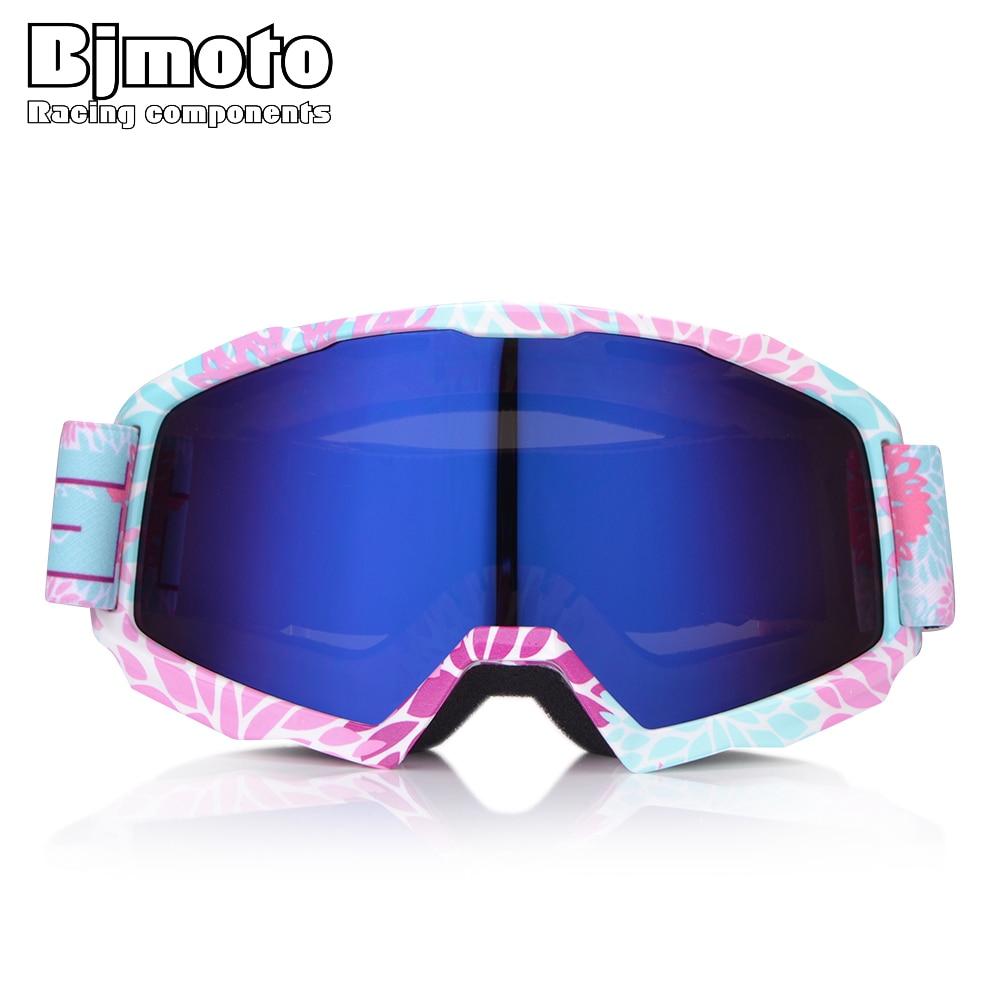 BJMOTO Motorcycle Goggles Off Road Masque Motocross Helmet Glasses Ski Sport Gafas Dirt Bike Racing Google Outdoor Eyeglasses