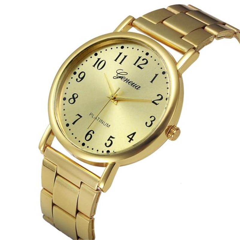 Women Watches Fashion Luxury Lady Wristwatches Crystal Stainless Steel Strip Bracelet Analog Quartz Popular Relogio Feminino AA4