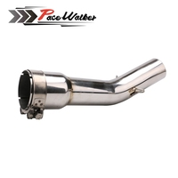 Motorcycle FZ1 FZ1N FZ1000 Exhaust Muffler Middle Pipe Motorbike Mid Link Pipe for Yamaha FZ1
