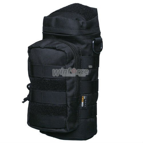 WINFORCE Tactical Gear/ MOLLE Bottle Holder with Shoulder Strap / 100% CORDURA / QUALITY GUARANTEED MILITARY AND OUTDOOR BAG