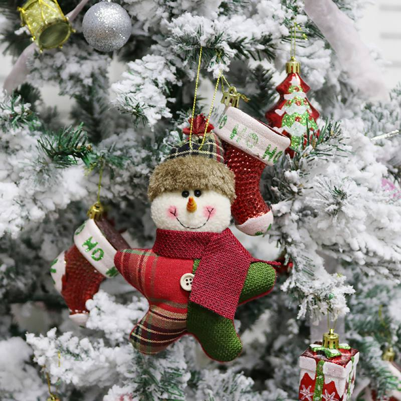 Logical Diy Christmas Pendant Non-woven Merry Christmas Tree Decorations Bedroom Desk Office Home Gift Children Home & Garden