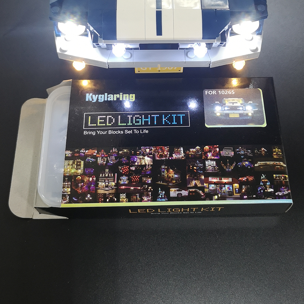 Led  Light Kit  Standard Version  For 10265 Ford Mustang Compatible With 21047   (not Include Car Bricks Set)