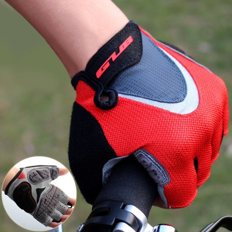 GUB Summer Cycling Gloves Half Fingers Bike Glove Spring Gel Bicycle Gloves Shockproof Women Men Racing MTB Road Bicycle Gloves batfox women cycling gloves female fitness sport gloves half finger mtb bike glove road bike bicycle gloves bicycle accessories