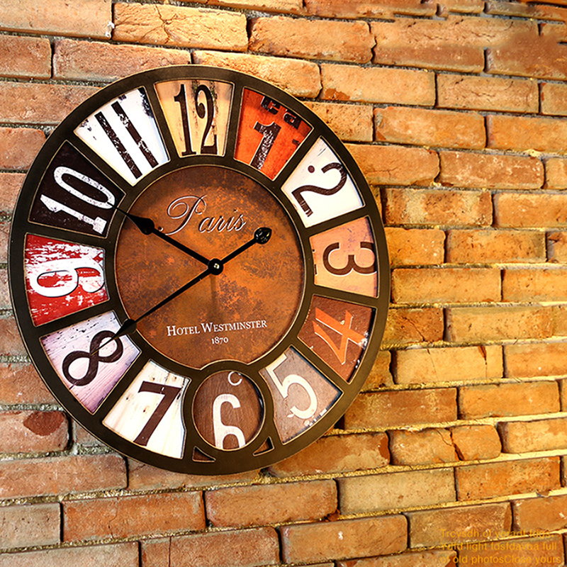 wall clock retro (9)