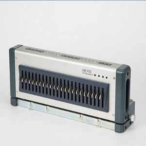 Image 3 - Elektrische punch und bindung maschine alle in einem, kamm bindung maschine und draht bindung maschine combo, heavy duty