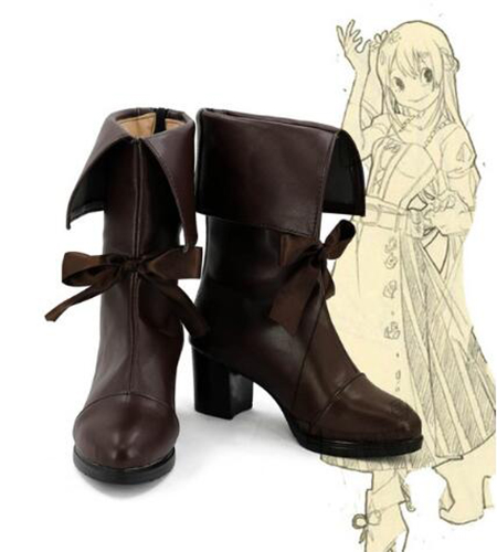 My Hero Academia Boku no Hero Academia Asui Tsuyu Cosplay Shoes Boots Halloween Party Custom Made Adult Women Shoes Accessories