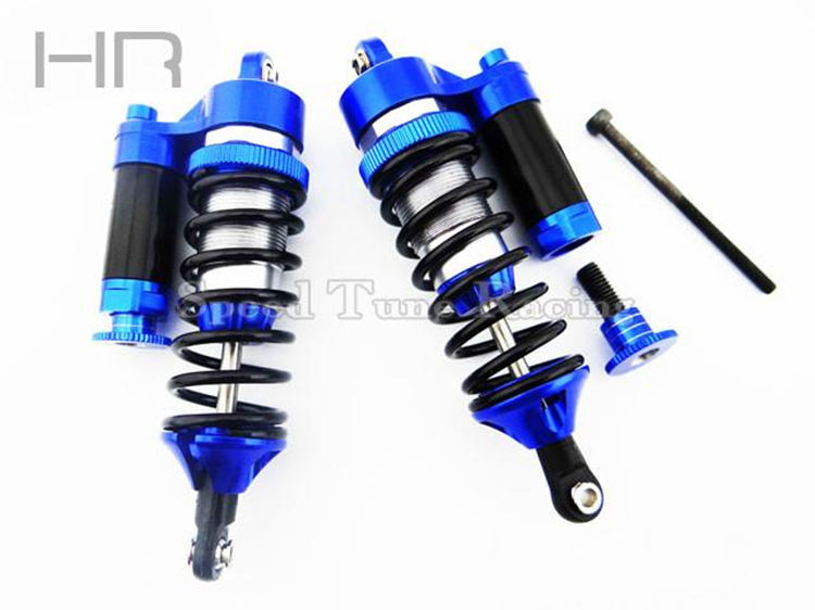 Hot Racing CNC Alloy Aluminum Piggyback Reservoir Shocks for 1/10 Traxxas SUMMIT E-Revo Revo RC Car Parts