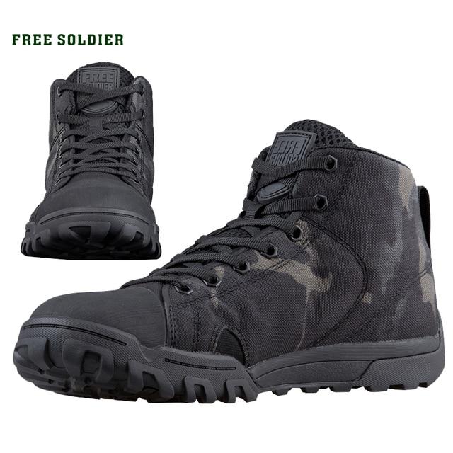 חייל חינם חיצוני ספורט טקטי צבאי גברים של נעלי רב מצלמת רך קל משקל טרקים נעלי לקמפינג טיולים