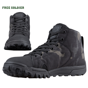 Image 1 - FREE SOLDIER outdoor sport tactical military mens shoes multi cam soft lightweight trekking shoes for camping hiking