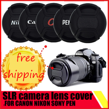 SLR camera lens cover 37 40.5 43 46 49 52 55 58 62 67 72 77 82 mm filter front cover lens cap for canon nikon sony Pentax