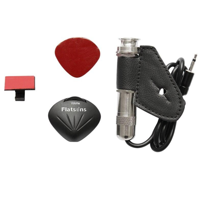 1Pc Guitar Pickup Piezoelectric Contact Microphone Pickup Guitar Violin Banjo Ukulele Guitar Accessories