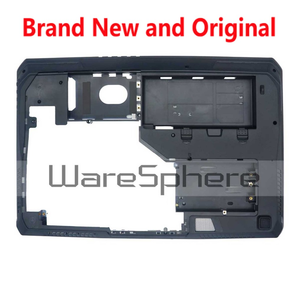 New Bottom Base Cover Bottom Case for MSI GT70 1762 MS-1762 MS-1763 307761D233Y31 307-761D233-Y31 761D232Y31 Black new for msi gp62 top cover palmrest cover upper case 307 6j1c261 y31 e2p 6j10236 y31 bottom base case cover