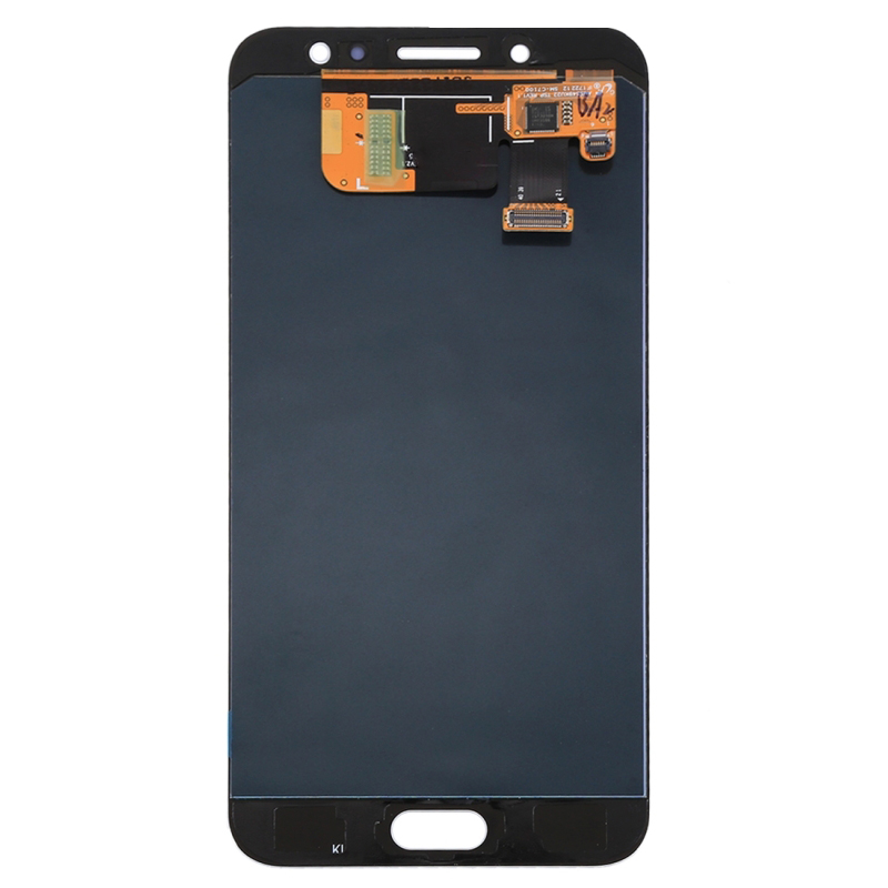 Original Super OLED AMOLED For Samsung Galaxy C8 C710F C71000 2017 LCD Display Touch Screen Digitizer Black White Assembly