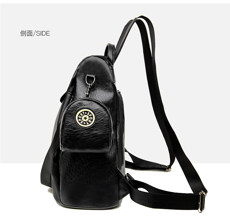 grande capacidade bolsa feminina mochila à prova