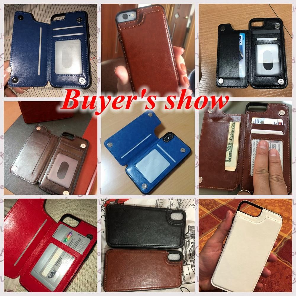 KISSCASE Wallet Cases für iPhone 11 Pro Max 6S 6 7 8 Plus XS Max - Handy-Zubehör und Ersatzteile - Foto 6