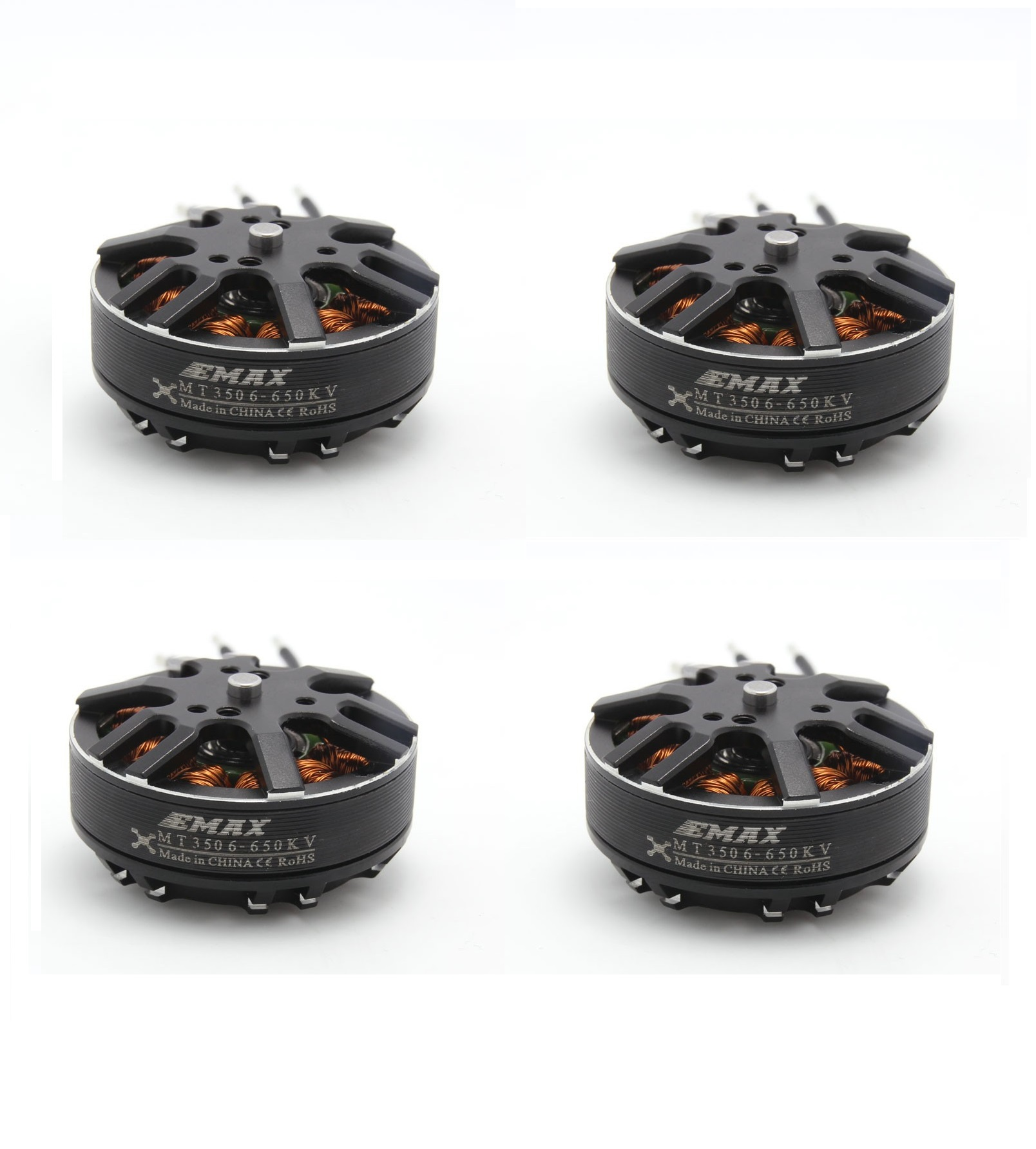 4pcs EMAX Brushless Motor MT3506 650KV KV650 Plus Thread Motor for RC FPV Multicopter Quadcopter Part lightstar подвесная люстра lightstar meta duovo 807066