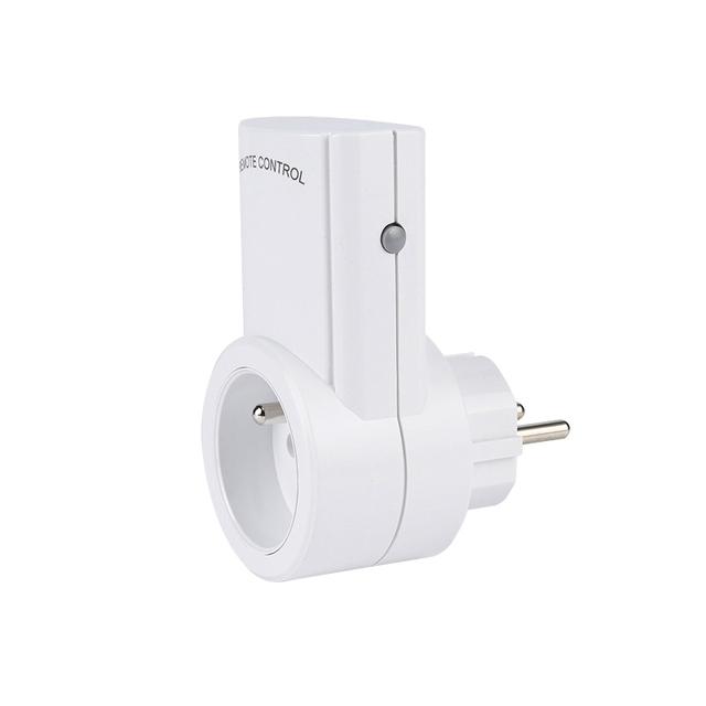 ESPLENTY Smart Socket  Remote Control  Wireless Outlet France Plug (5 Socket+1 Remote)