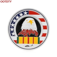 Collectible Coin Welcome Home Brother Eagle Silver Plated Souvenir Commemorative Coin Challenge