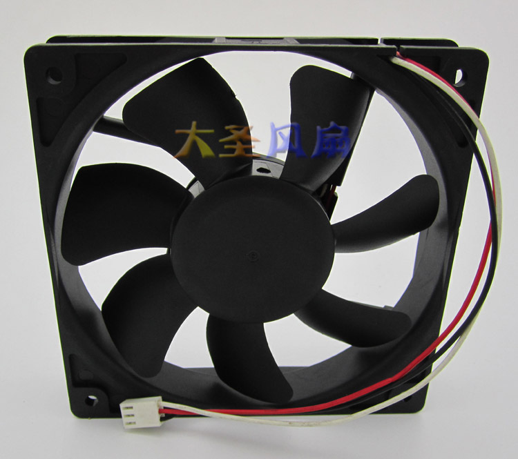 Original AVC F1225B12H DC12V 0.45A 12cm 120*120*25MM Computer chassis cooling fan