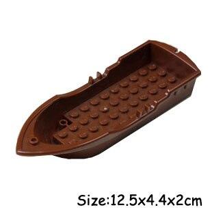 21301 Bounty Boat 14x5x2 Oarlocks without Hollow Inside Studs accessory bricklink DIY building block brick assemble brickset металлоискатель bounty hunter discovery 2200
