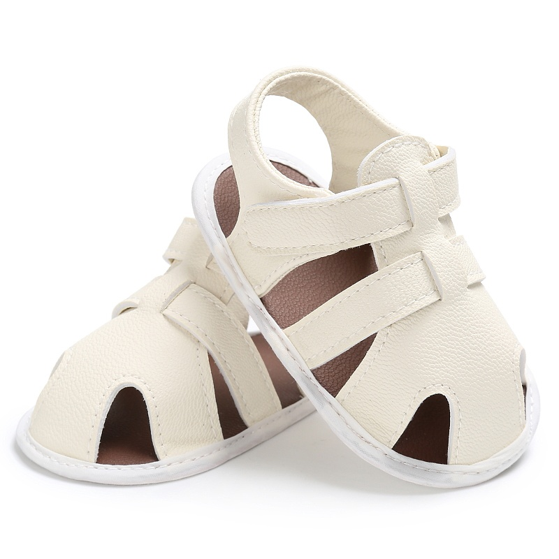 Summer Newborn Baby Boys Shoes PU Leather Kids Schoenen First Walkers Soft Soled  Infant Prewalker